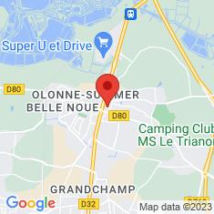 Carte / Plan Olonne-sur-Mer