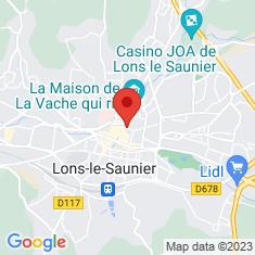 Carte / Plan Lons-le-Saunier