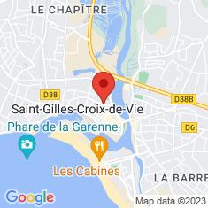 Carte / Plan Saint-Gilles-Croix-de-Vie
