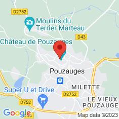 Carte / Plan Château de Pouzauges