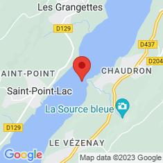 Carte / Plan Lac de Saint-Point
