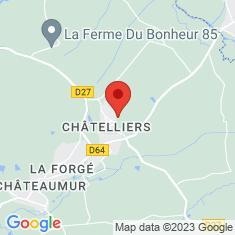 Carte / Plan Les Châtelliers-Châteaumur