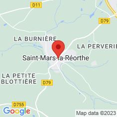 Carte / Plan Saint-Mars-la-Réorthe