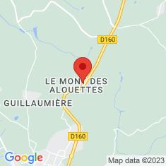 Carte / Plan Moulins du Mont des Alouettes