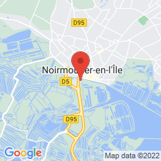 Carte / Plan Aquarium Sealand de Noirmoutier-en-l'Île