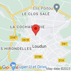 Carte / Plan Aquarium de Loudun