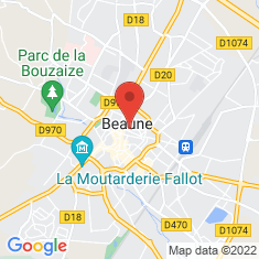 Carte / Plan Beaune