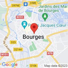 Carte / Plan Cathédrale Saint-Étienne de Bourges