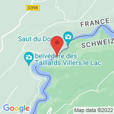 Carte / Plan Saut du Doubs