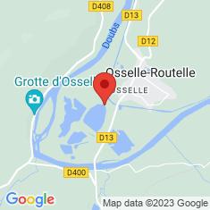 Carte / Plan Besançon-Osselle plage
