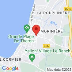 Carte / Plan Tharon-Plage