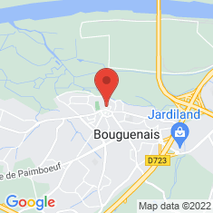 Carte / Plan Bouguenais