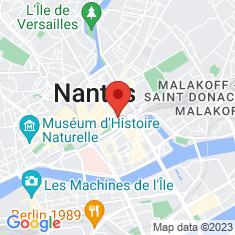 Carte / Plan Château des ducs de Bretagne