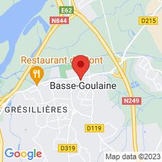 Carte / Plan Basse-Goulaine