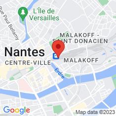 Carte / Plan Gare de Nantes