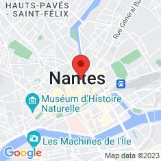 Carte / Plan Nantes