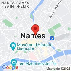 Carte / Plan Collégiale Notre-Dame de Nantes