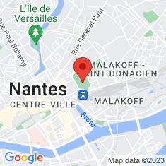 Carte / Plan Jardin des plantes de Nantes