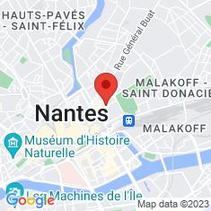 Carte / Plan Musée des beaux-arts de Nantes