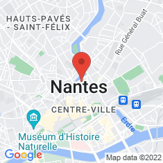 Carte / Plan Hôtel de préfecture de la Loire-Atlantique