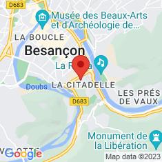 Carte / Plan Citadelle de Besançon