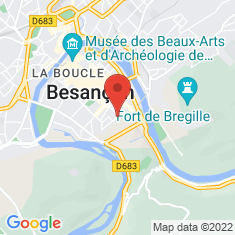 Carte / Plan Cathédrale Saint-Jean de Besançon