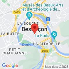 Carte / Plan Théâtre de Besançon