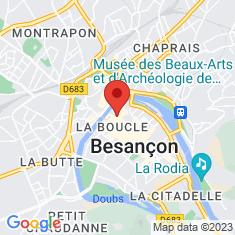 Carte / Plan Musée des beaux-arts et d'archéologie de Besançon