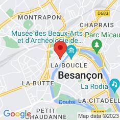 Carte / Plan Église Sainte-Madeleine de Besançon
