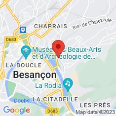 Carte / Plan Gare de Besançon-Mouillère