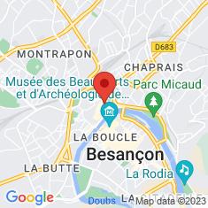 Carte / Plan Besançon