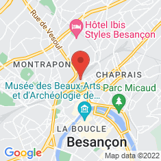 Carte / Plan Gare de Besançon-Viotte