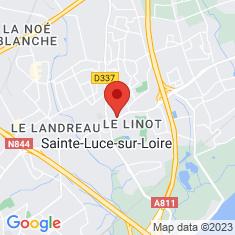 Carte / Plan Sainte-Luce-sur-Loire