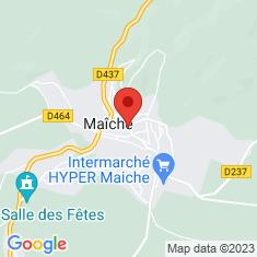 Carte / Plan Maîche