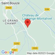 Carte / Plan Château de Lagrange-Montalivet