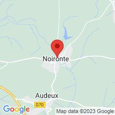 Carte / Plan Noironte