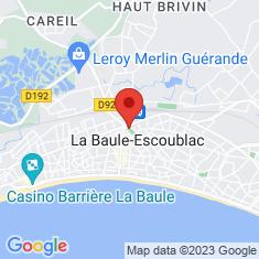 Carte / Plan La Baule-Escoublac