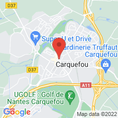 Carte / Plan Carquefou