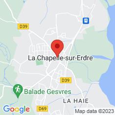 Carte / Plan La Chapelle-sur-Erdre