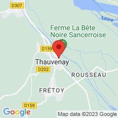 Carte / Plan Thauvenay