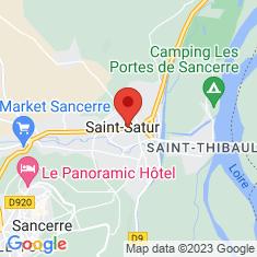 Carte / Plan Abbaye Saint-Satur