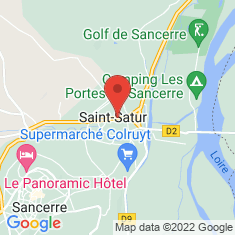 Carte / Plan Église Saint-Pierre de Saint-Satur