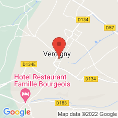 Carte / Plan Verdigny