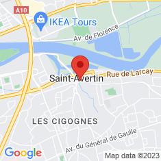 Carte / Plan Saint-Avertin