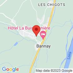 Carte / Plan Bannay (Cher)