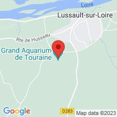 Carte / Plan Aquarium du Val-de-Loire