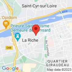 Carte / Plan La Riche