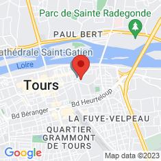 Carte / Plan Musée des beaux-arts de Tours
