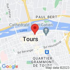 Carte / Plan Église Saint-Julien de Tours