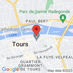 Carte / Plan Château de Tours